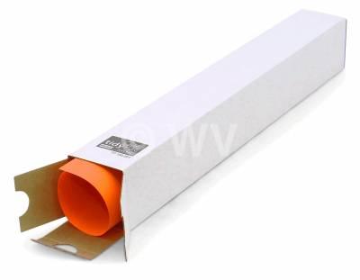 Planversandhülse 7541001 -  500x 65x 65mm weiß offen