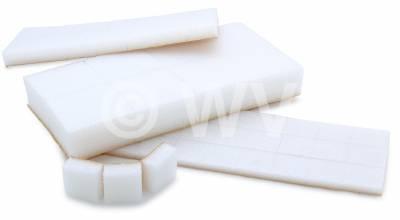 Schaumpolster Pads weiß