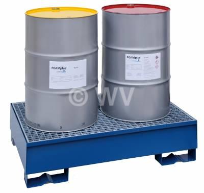 FoamPlus_Bagpacker_Schaumpolsterkomponente_A+B_rot-gelb_Fass_Art.69010010+11