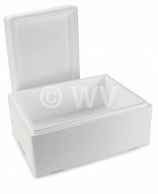 EPS-Isolierkiste mit Deckel weiß 8554210 -  360x 260x 150mm