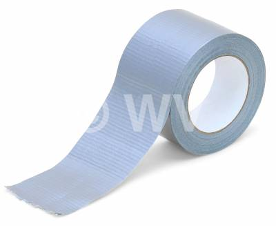 100mmx 50m Gewebeband Duct Tape 250µ silber