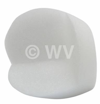 Schaumecken_weiß 100mm Innen-Kantenlänge 125 mm