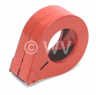 Handabroller_Metalldose_D2-50_rot_50mm