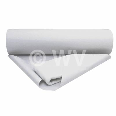 Seidenpapier Rolle weiß gebleicht 22 g/m²