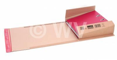 7215001 -  320x290x35-80mm Buchpack Ordner A4 braun SK+F