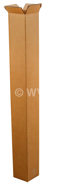 20 Stück Trapez-Versandhülse 435 mm für DIN A2 braun Versand-Falt-Karton