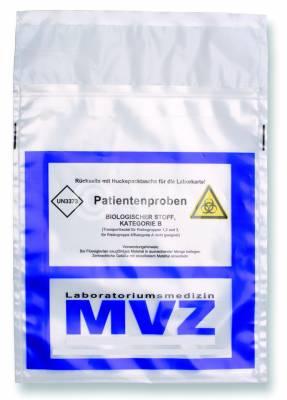 Patientenprobenbeutel Medizinbeutel Diagostische Proben UN 3373 ADR P650
