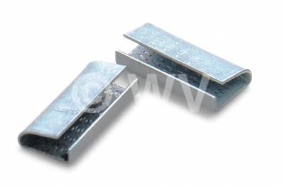 1000 Stück Verschlusshülsen Geriffelt für 13 mm Umreifungsband Metall verzinkt