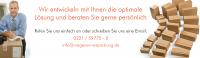 Senden Sie uns Ihre Anfrage an info@wagener-verpackung.de