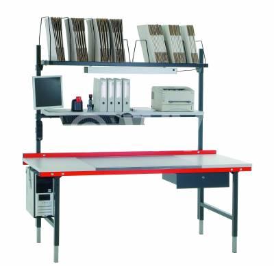 Komplettpacktisch System 2000 2000x920x960-1230mm