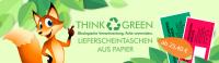 Ökologische Lieferscheintaschen aus Papier