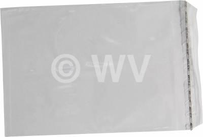 Adhäsionsverschlussbeutel 2611001 -  165x 220 mm 70µ transp F