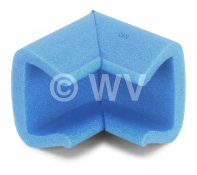 NOMAPACK_3002175_U-Eck-Schaumprofil_Kantenschutz_blau_71mmx51mmx45mm