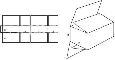 Karton nach Maß: FEFCO 0203 mit der Stk. Anzahl 123