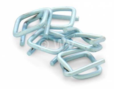 Verschlussschnalle für PET-Fadenband